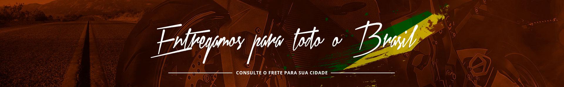 Entra de moto todo o Brasil